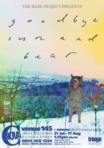 fringe poster bear more sun