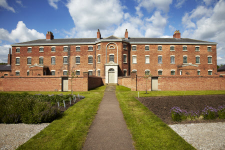 The exterior of the Workhouse, Southwell, Nottinghamshire.
